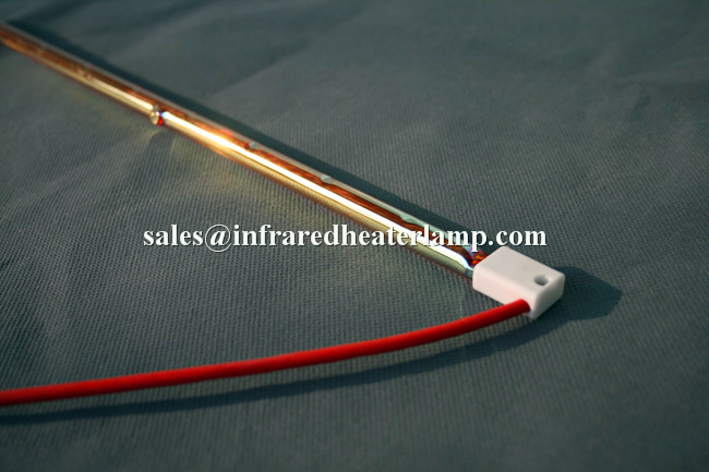 gold infrared heating lamp