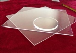 high temperature clear quartz glass plate